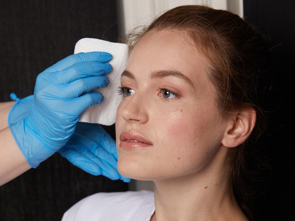 using clinisept+ prep procedure